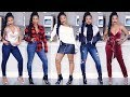 Massive Try-On Clothing Haul ft. Express! Cute Holiday LookBook