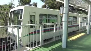 西武8500系V1編成 西武園ゆうえんち駅発車