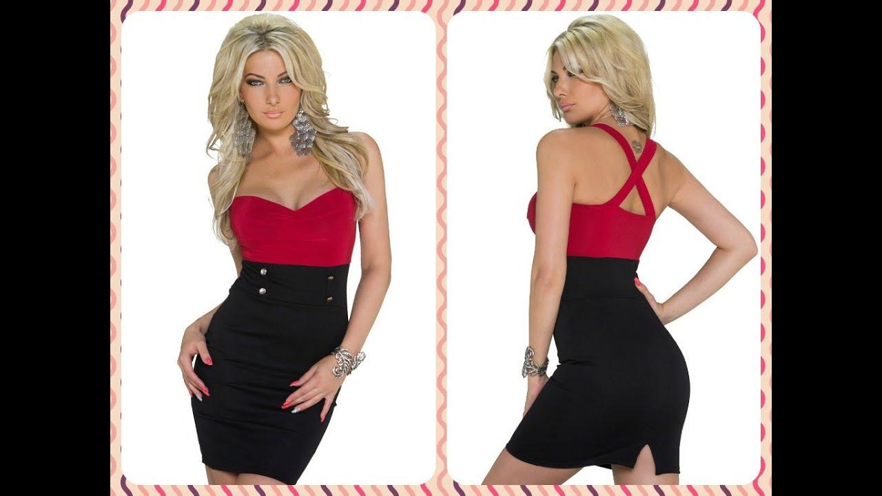 Video Vestido rojo y negro u00a1Porque soy mujer! (Compra online en Espau00f1a) - YouTube