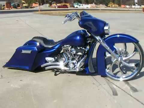 Custom Cycles Ltd 30 Inch Big Wheel Bagger Harley Davidson