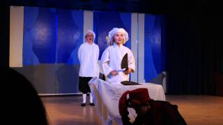 """Performing """"Le Poissons"""" from The Little  Mermaid in the OLS Drama Club"""