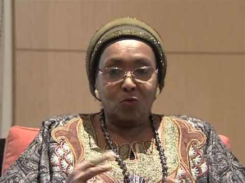 Interview avec Madame Edna Adan Ismail au Gabon - Partie I-