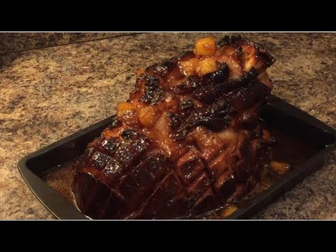 How To Make Brown Sugar Honey Glazed Ham For Easter