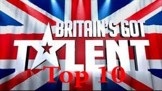 Top 10 Britains Got Talent Auditions 201...