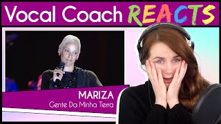 Vocal Coach reacts to Mariza - Gente Da Minha Terra ao vivo (Live)