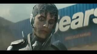 Man Of Steel Superman vs  General Zod Smallville Fight Part 2