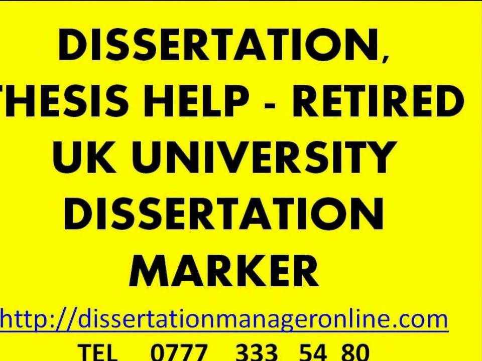Dissertation review service advice