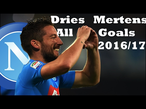 Dries Mertens | S.S.C Napoli - All Goals and Best Assists  2016/17
