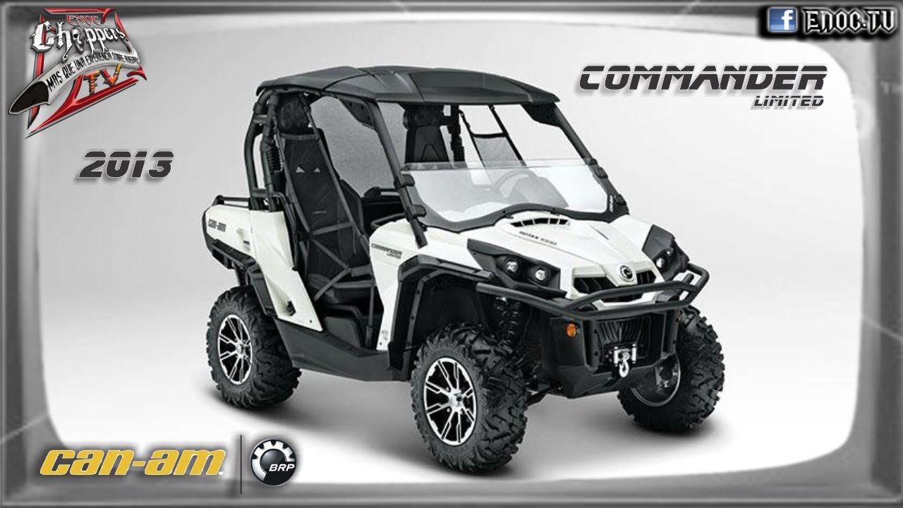 Commander 1000 Limited 2013 Can Am Brp Side By Side En