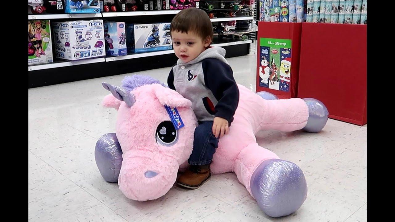 My Little Pony Giant Pink Unicorn Plush Doll Youtube
