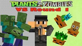 Minecraft : Plant Vs Zombie Series # 7 การทดสอบปล่อยซอมบี้ครั้งแรก