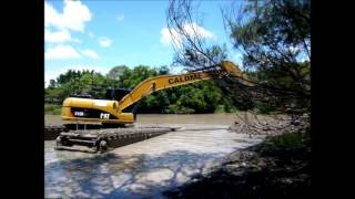 EIK Cat315D Amphibious Excavator