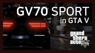 [GTA5] 제네시스 GV70 스포츠 | THE GEN…