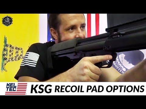 KEL TEC KSG Recoil Pad   Cheek Pad Options - KSG Accessories