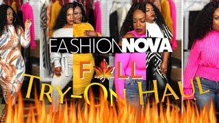 "SHE'S SUCH A NOVABABE! | FASHION NOVA ""FALL"" TRY-ON HAUL | FASHION EDITION"