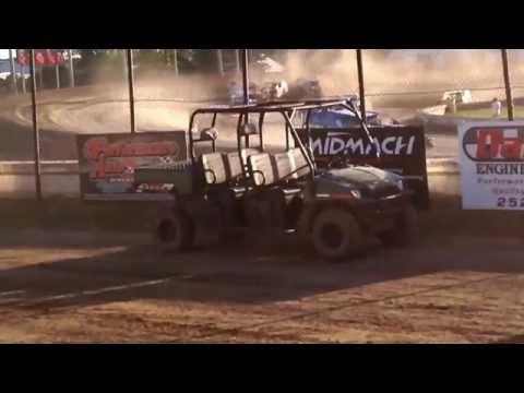 Jamestown speedway IMCA mods heat race