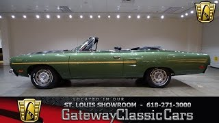 #7266 1970 Plymouth Road Runner - Gateway Classic Cars of St. Louis