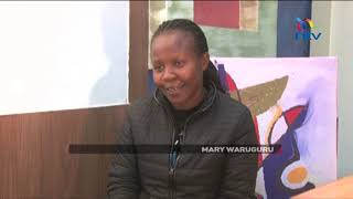 Solai's national hero Mary Waruguru, a clinic administrator, who helped save over 30 lives