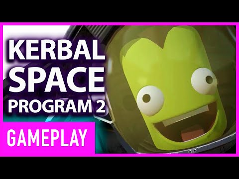 Check Out the Explosive First Gameplay of 'Kerbal Space