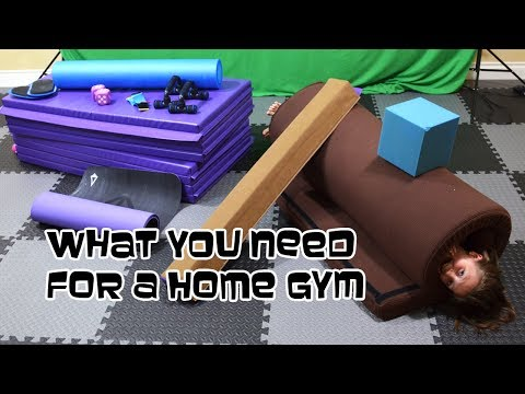 What A Gymnast Needs For A Home Gym   Gymnastics With Bethany G