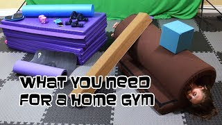 What A Gymnast Needs For A Home Gym | Gymnastics With Bethany G