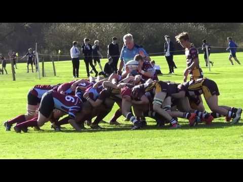 Monmouth 1st XV v Welsh Crawshays 18/10/16