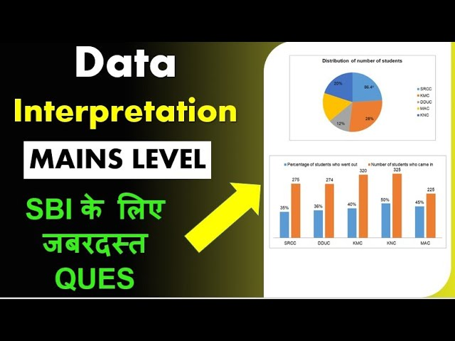 MAINS LEVEL Data Interpretation Mixed Graph - SBI के लिए जबरदस्त QUES- NEW Concept Explained here