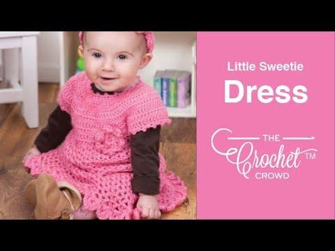 f31f30d7a181 Crochet Little Sweetie Dress - YouTube