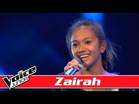 Zairah synger: Hozier - 'Take Me To Church' Voice Junior / Blinds