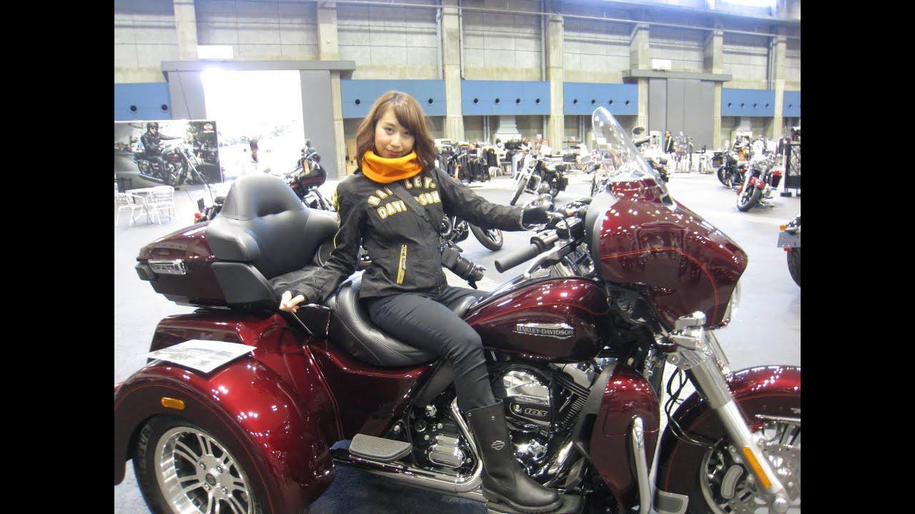 Harley Tri Glide >> HARLEY-DAVIDSON TRI GLIDE ULTRA(FLHTCUTG) Exhaust Note - YouTube