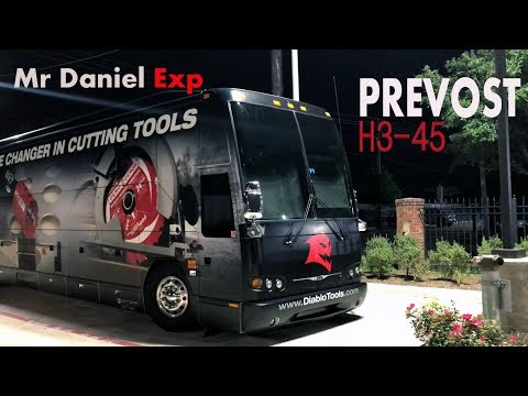 Fully Wrapped Prevost H3-45 | Diablo Cutting Tools the Game Changer | Tour Bus
