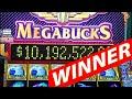MAN WINS $10 Million Megabucks Jackpot at Henderson Fiesta Casino