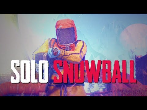 Rust Stream | SOLO SNOWBALL (FRESH SPAWN to FULL GEAR!)