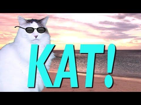 happy birthday kat HAPPY BIRTHDAY KAT!   EPIC CAT Happy Birthday Song   YouTube happy birthday kat