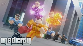 I WAS ARRESTED AND ESCAPED FROM PRISON!!! MadCity Roblox