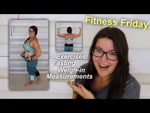 Intermittent Fasting 🥑 For A Month | I'VE LOST 6 INCHES!!!  [Fitness Friday] 🏋🏻♀️ 🏃🏻♀️