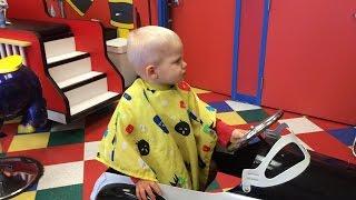 Baby Michael Gets a Haircut