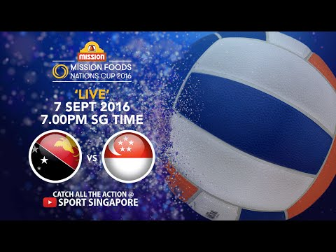 Netball: Papua New Guinea vs Singapore | Mission Foods Nations Cup 2016