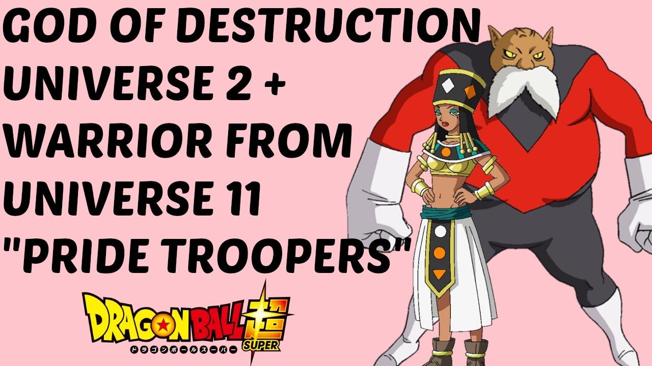 Dragon Ball Super Spoiler Universe 2 God Of Destruction And