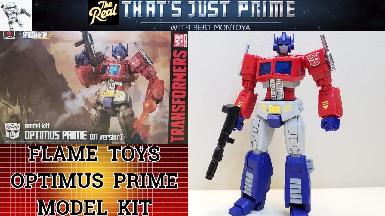 Flame Toys OPTIMUS PRIME Model Kit (G1 version) Review!