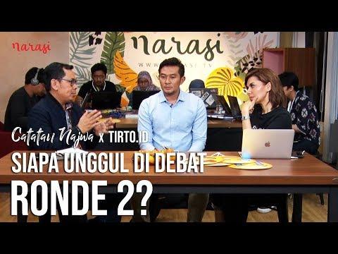 Siapa Unggul di Debat Ronde 2?   Catatan Najwa