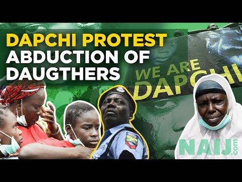 Boko Haram Kidnappings: Dapchi Protests Abduction of Their Daughters by Boko Haram