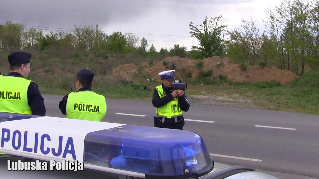 Zwiększone siły policji na lubuskich drogach. Cel? Bezpieczeństwo