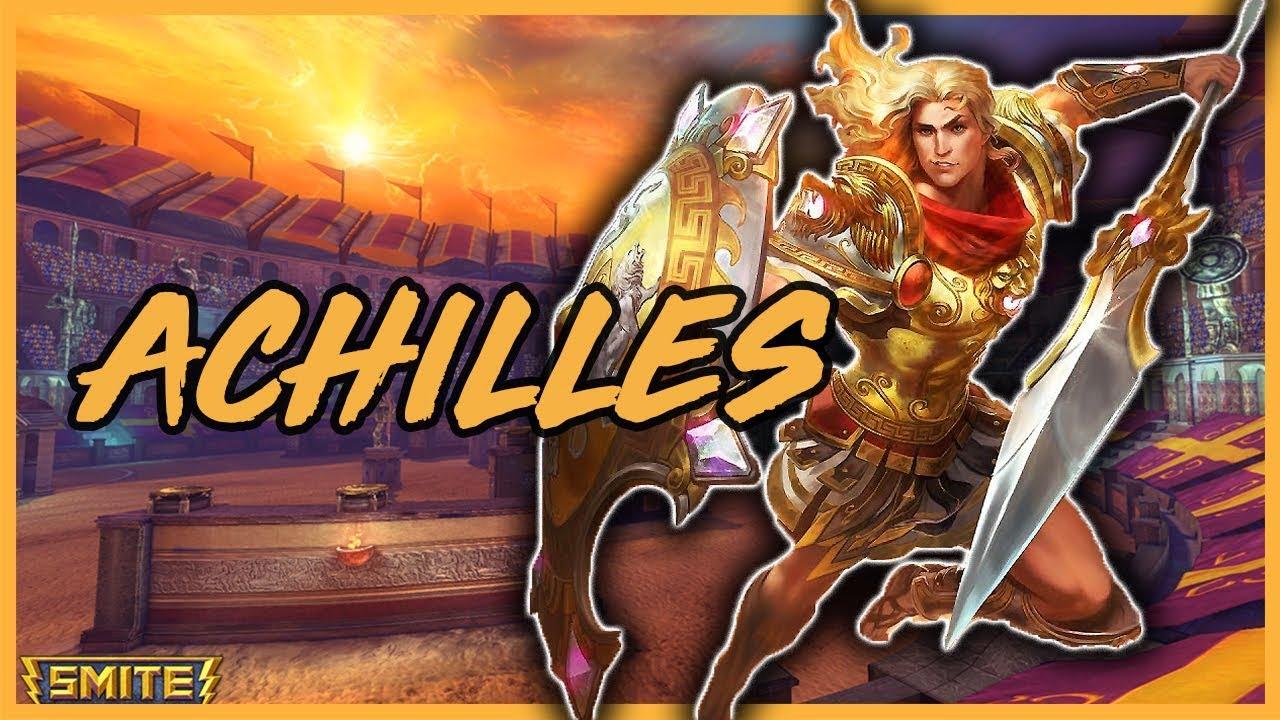 new god achilles hero of the trojan war full smite