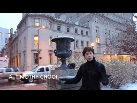 A Glimpse into the world of Aaron Timothy Chooi
