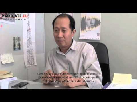 Hou Hanru, Artistic Director of MAXXI (Rome)