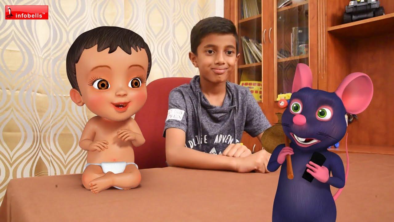 எலியாரே எலியாரே - Eliyare Eliyare | Tamil Rhymes for Children | Infobells