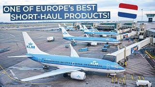 TRIPREPORT | KLM (Economy) | Amsterdam - Manchester | Boeing 737-800