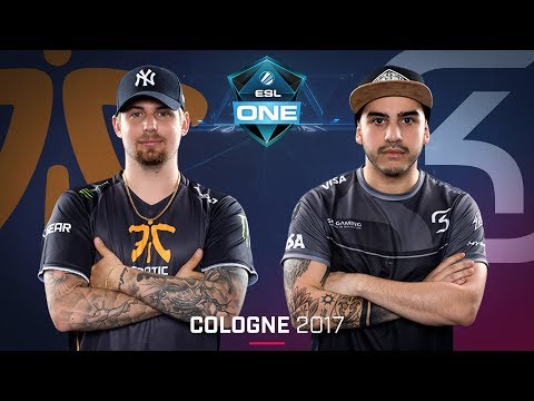 CS:GO - Fnatic vs. SK [Mirage] - Swiss Round 5 - ESL One Cologne 2017