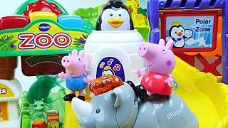 Zoo Explorers Go Go Smart Animals Vtech Peppa Pig Preschool Interactive Toddler Toys By Dctc